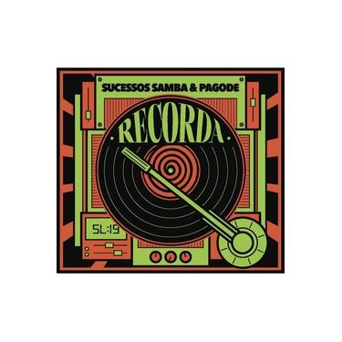 Imagem de Cd Recorda Sucessos - Samba & Pagode