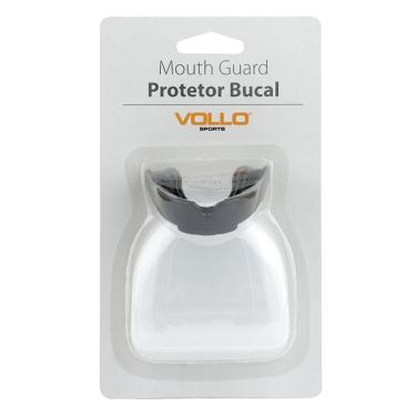 Protetor Bucal Vollo Com Estojo VM502 - Preto