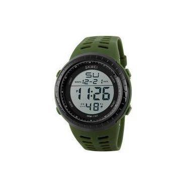 9c0ca731b02 Relógio Masculino Skmei Digital 1167 Vd-Pt