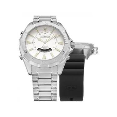9a48be98eb8af Relógio Technos Masculino T205FX 1B + Pulseira de Silicone
