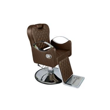 Imagem de Poltrona Cadeira De Cabeleireiro Barbeiro Reclinável Urano, Barbearia - CAFÉ FACTO