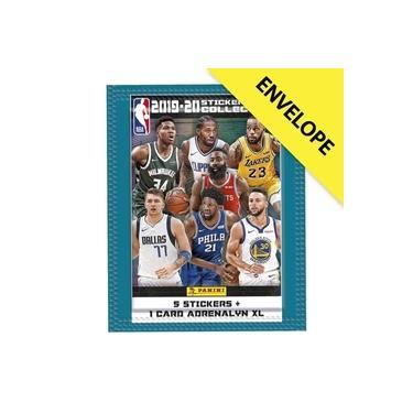 Envelope NBA 2019/20 - Contém 5 cromos + 1 card