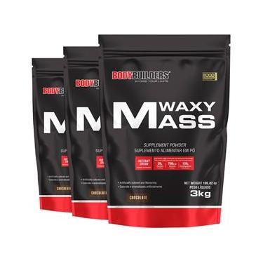 Kit 3x Hipercalórico Waxy Mass 3kg Chocolate – Bodybuilders