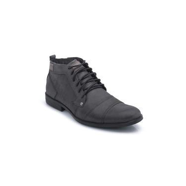 Sapato Casual Cano Baixo Sem Ziper Cinza Bergally