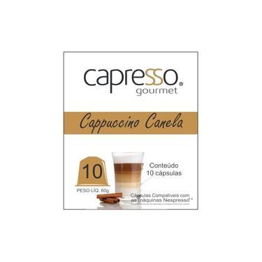Cápsulas De Cappuccino C/ Canela Compatível Com Nespresso