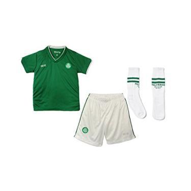 Conjunto Dry Uniforme Palmeiras, Rêve D'or Sport, Bebê Menino, Verde/Branco, 2