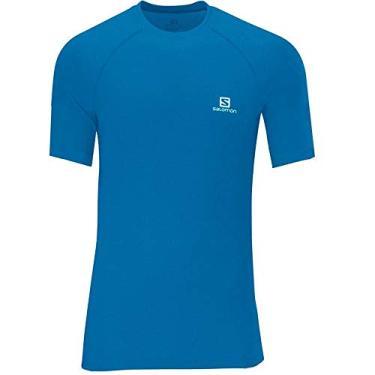 Camiseta Masculina Hybrid SS Tee Salomon Homens M