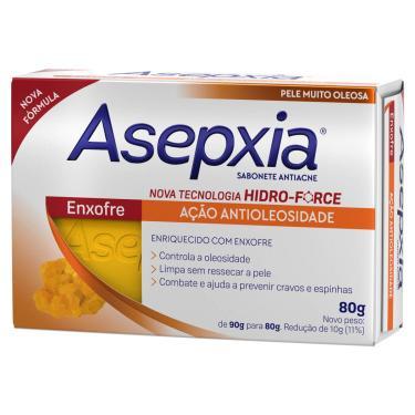 Sabonete Facial em Barra Asepxia Enxofre Antioleosidade com 80g 80g