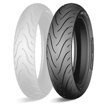 Pneu Moto Michelin Aro 17 Pilot Street 180/55R17 73W TL/TT - Traseiro MICHELIN