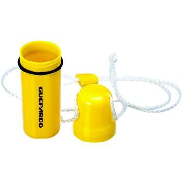 Porta Objetos impermeável Cilíndrico Amarelo - Guepardo