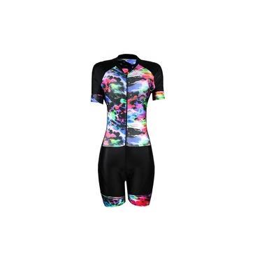 Macaquinho Ciclismo Feminino Befast Pints Colors