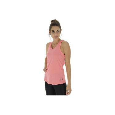 Camiseta Regata Under Armour Triblend - Feminina - ROSA CLARO Under Armour 295e1f1a90cfe