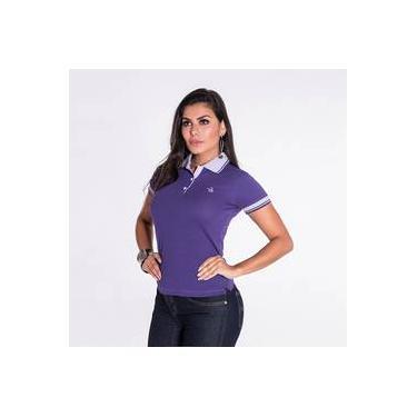 3dc806ba78 Camiseta Polo Feminina Lisa Terra De Peão