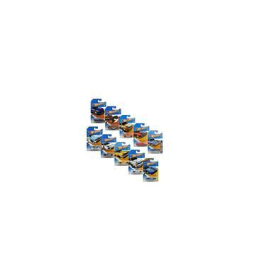 Imagem de Kit Com 10X Carrinhos Hot Wheels Sortidos C4982 Mattel