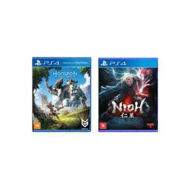 Games Horizon Zero Dawn + Nioh Ps4