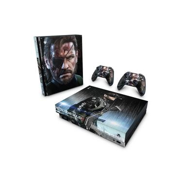 Skin Adesivo para Xbox One X - Metal Gear Solid V