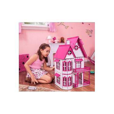 Imagem de Casa de Bonecas Escala Polly Modelo Mirian Sonhos - Darama