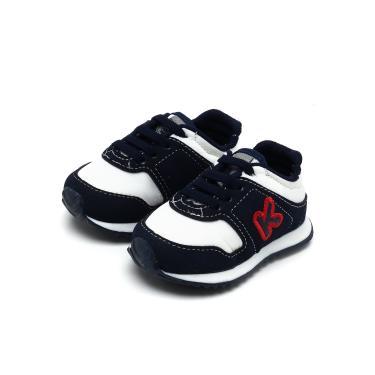 a7dce42167 Tênis Klin Mini Walk Azul Klin453017000 menino
