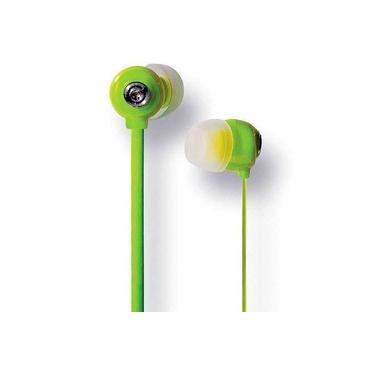 Fone De Ouvido Youts In-ear Candy Colors Verde
