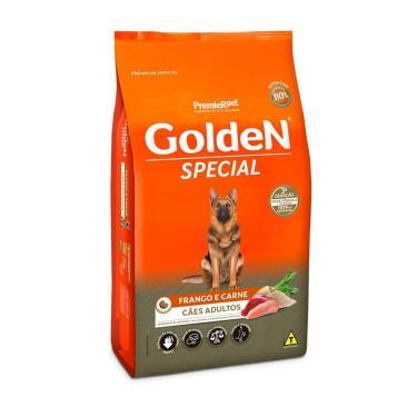 Ração Golden Cães Adultos Special Frango E Carne - 20Kg
