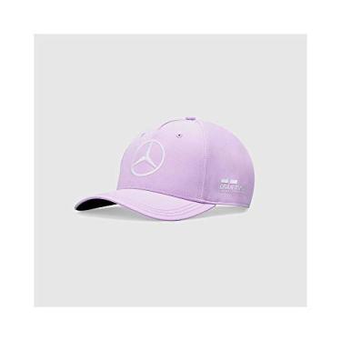 Mercedes-AMG Petronas F1 Edição Especial Lewis Hamilton 2020 Barcelona GP chapéu roxo