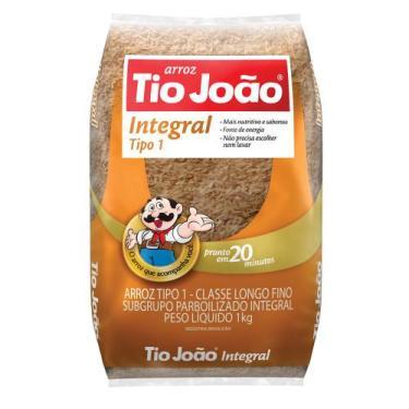 Arroz Tio João Integral - 1kg