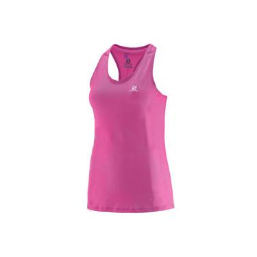 Camiseta Regata Tank Salomon Comet Feminina Rosa