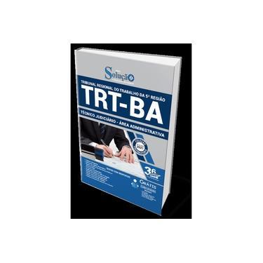 Imagem de Apostila TRT-BA 2021 - Técnico Judiciário - Área Admin