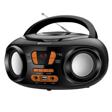 Rádio Portátil Mondial BX-19, Entrada USB, Conexão sem Fio, Auxiliar, Rádio FM, 6W RMS