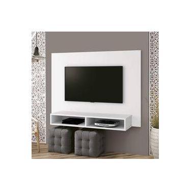 Painel para TV até 40 Polegadas Fox EDN Móveis Branco