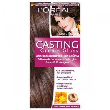 Imagem de Coloração Permanente Casting Creme Gloss N° 600 Louro Escuro