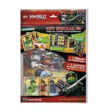 Jogo De Cartas - Starter Pack - Lego Ninjago - Masters Of Sp
