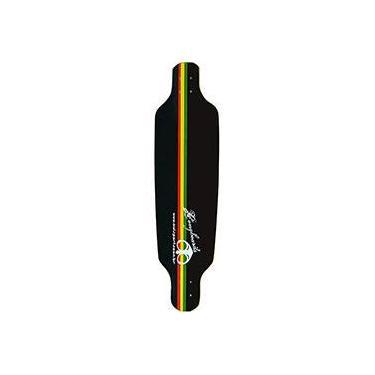 Shape para Skate Speed Reggae Owl Sports - Preto