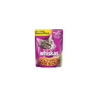 Ração Sachê Frango 85G - Whiskas