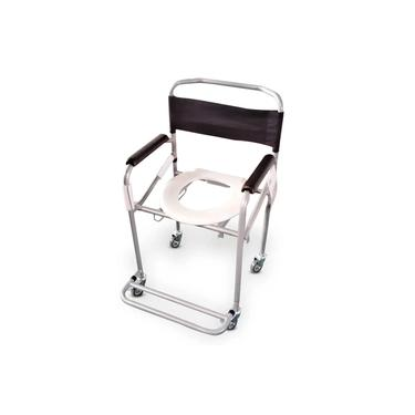 Imagem de Cadeira de Banho Higiênica Dobrável Reforçada D40 Dellamed