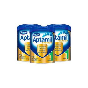 Kit Aptamil Premium+ 1 - 800g - 3 unidades
