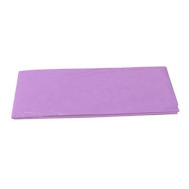Imagem de DYNWAVE Toalha de mesa descartável, capa de toalha de mesa, festa de aniversário - roxo claro
