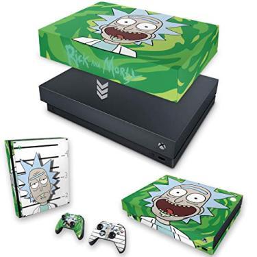 Capa Anti Poeira e Skin para Xbox One X - Rick Rick And Morty