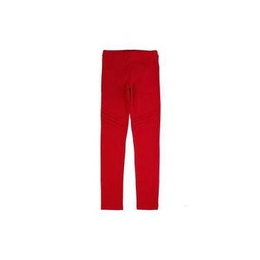 Calça Legging Vermelho