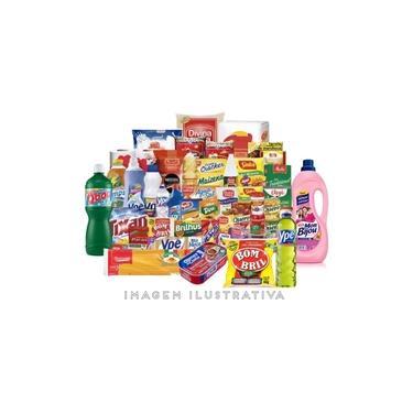 Super Cesta Básica Completona 59 Itens alimentos higiene limpeza
