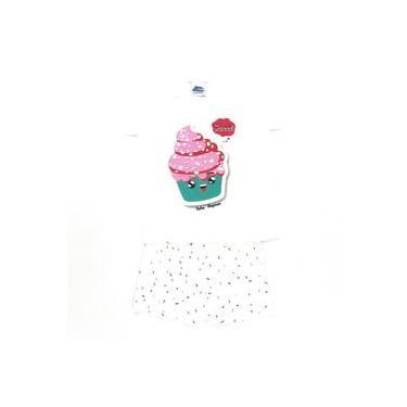 Pijama Cupcake Crème - Bicho Bagunça