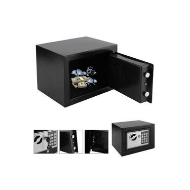 Imagem de Cofre Eletronico Digital Arma Curta Teclado Fechadura Eletronica Com Senha Sos Chave Em Aco