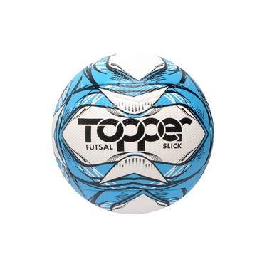 Bola Futsal Topper Slick 5165 Azul/Branco