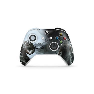 Skin Adesivo para Xbox One Slim X Controle - Skyrim
