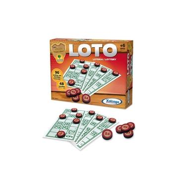 Imagem de Jogo Loto Bingo 48 Cartelas - Brinquedos Xalingo