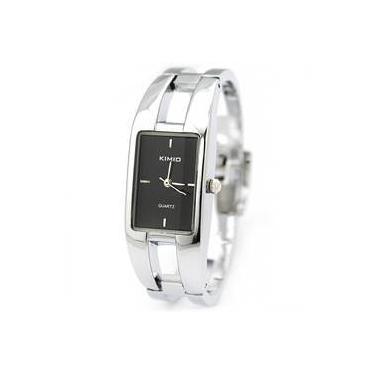 9d23cd137 Relógio Feminino Bracelete Retang Kimio Promoção Barato