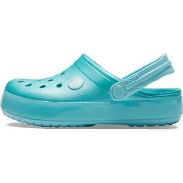 Sandália Crocs Crocband Ice Pop Azul  menina