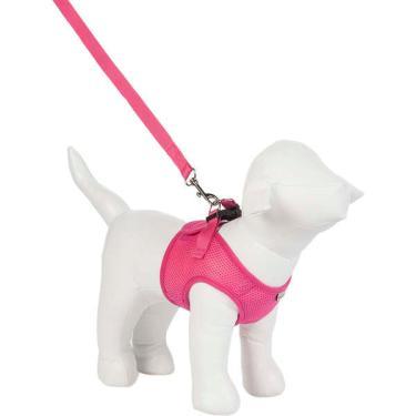 Peitoral Colete Urban Puppy Aerado Pink - Tam. G