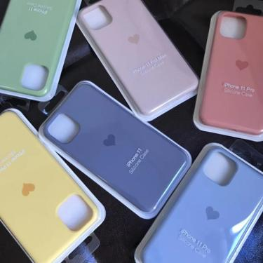 Capa de silicone líquido para iphone, capa adorável para iphone 11 pro max x xs xr 6 6s 7 8 plus 230664836