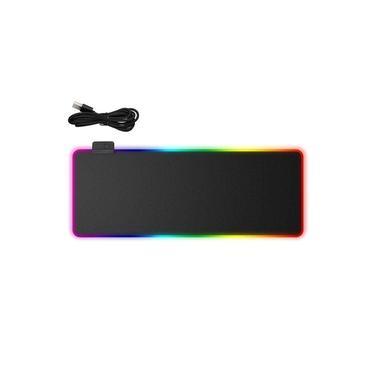 R6 Super-grande emissor de luz mouse pad jogo trancada do lado mouse pad com USB